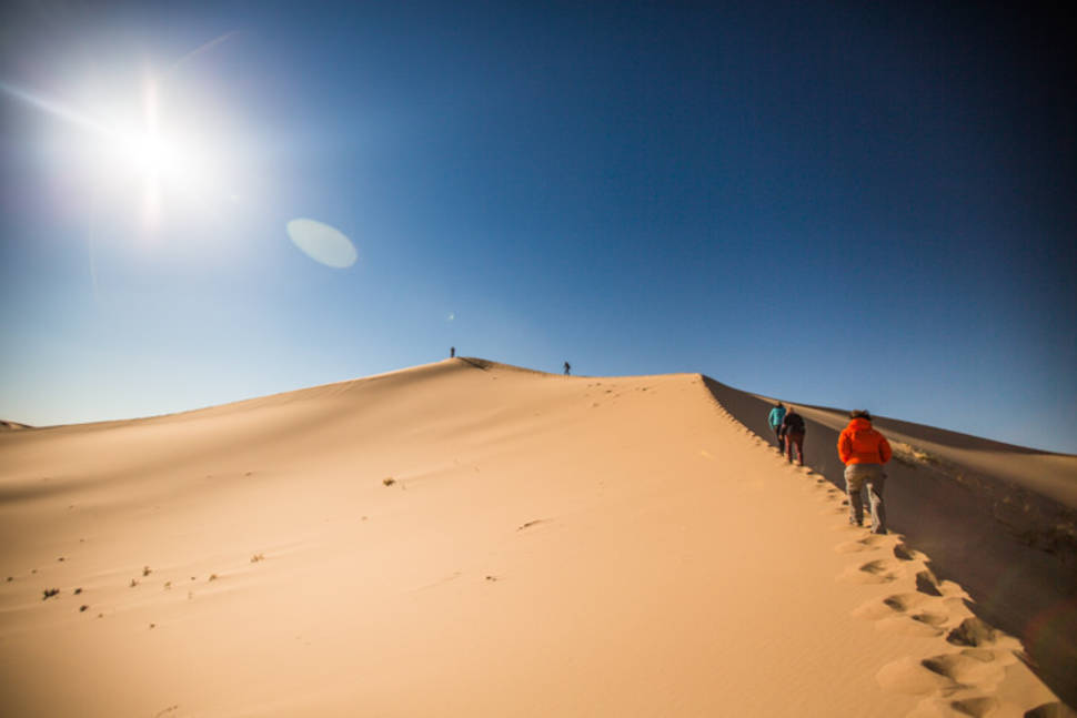 Singing Sands in the Gobi Desert in Mongolia - Best Season