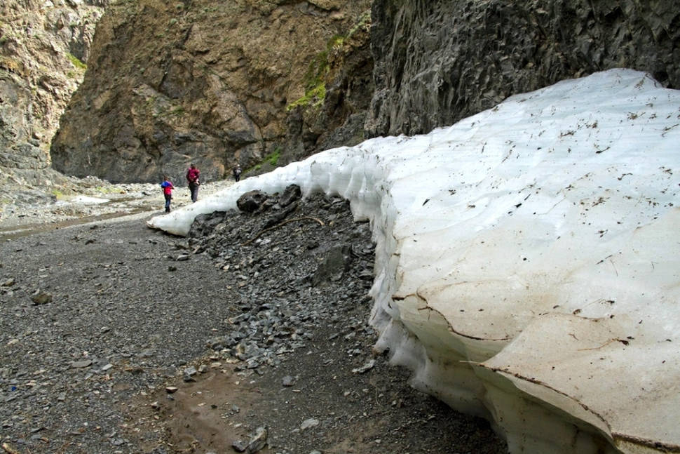 Yolyn Am Canyon in Mongolia - Best Season