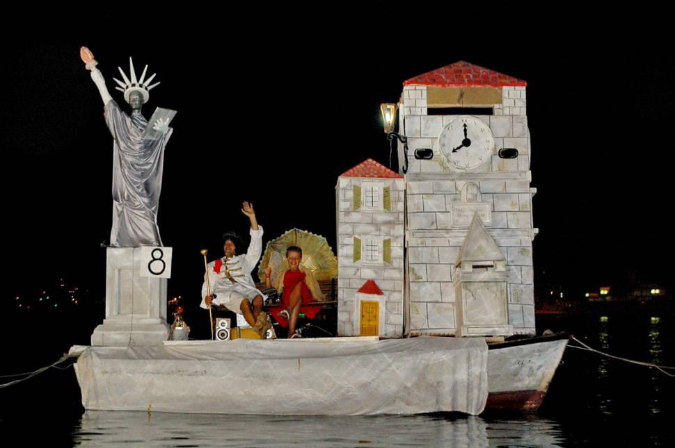 Best time for Bokeljska Noc or Boka Night in Kotor in Montenegro