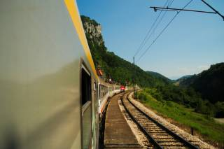 The Train from Bar to Belgrade