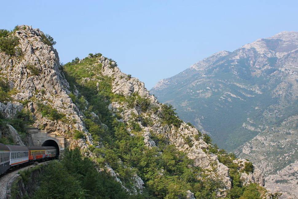 The Train from Bar to Belgrade in Montenegro - Best Season