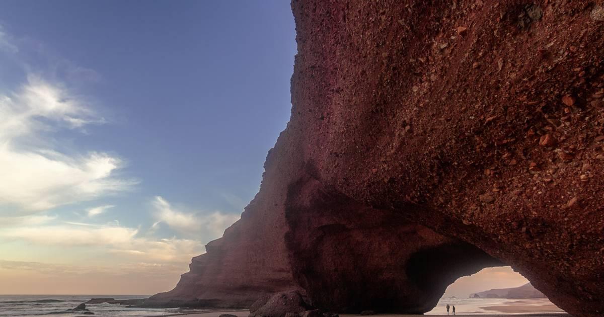 Legzira Beach in Morocco - Best Time