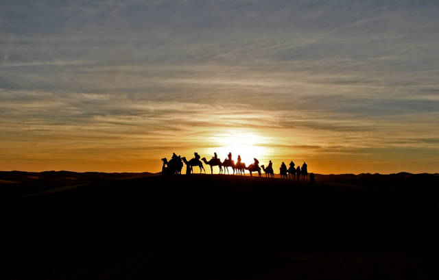 Sunrise and Sunset in Morocco - Best Time
