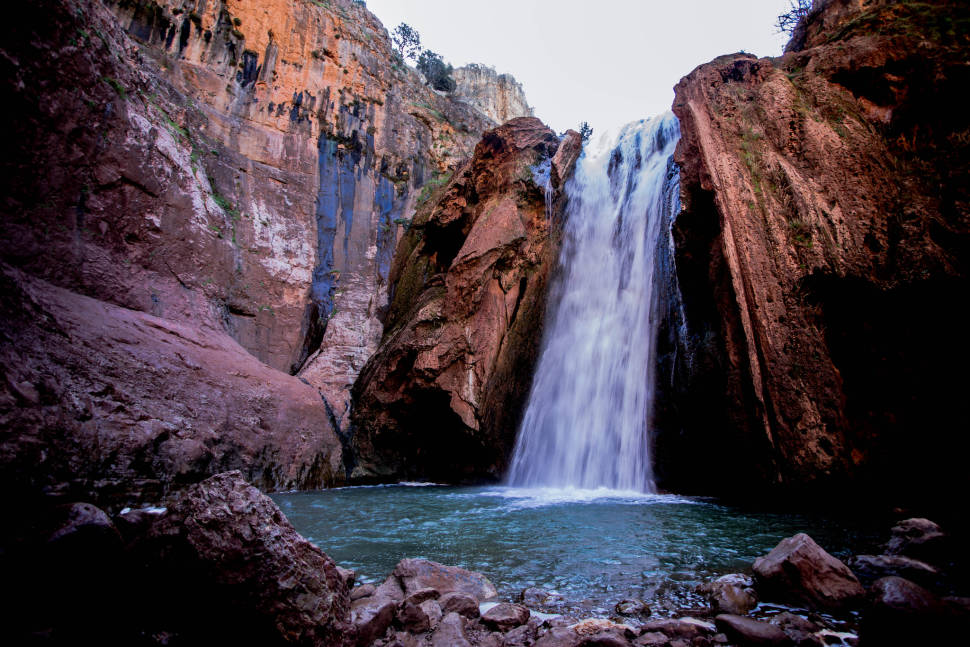 Winter Waterfalls in Morocco - Best Time