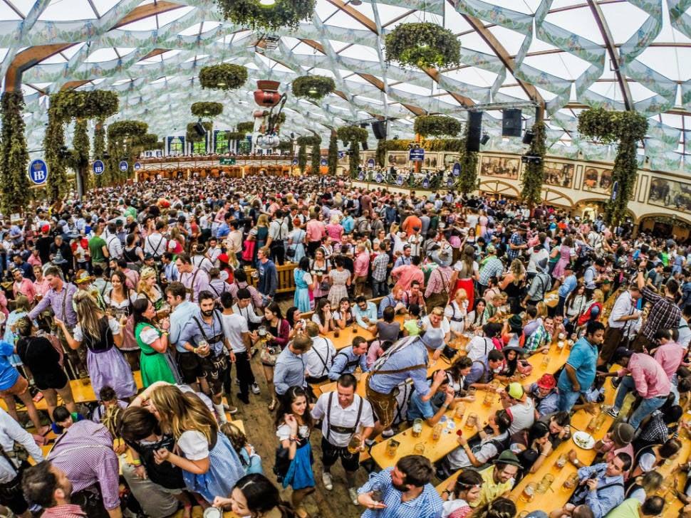 Best time for Oktoberfest in Munich