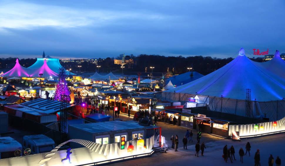 Tollwood Winter Festival in Munich - Best Season