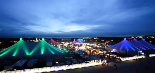 Best time for Tollwood Winter Festival in Munich