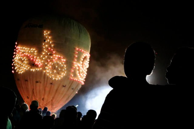 Best time to see Balloon Festival in Taunggyi in Myanmar