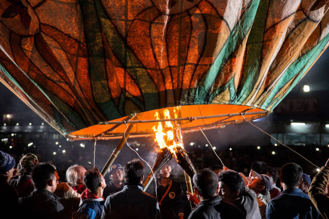 Balloon Festival in Taunggyi in Myanmar - Best Time