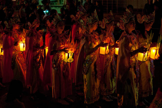 Light procession