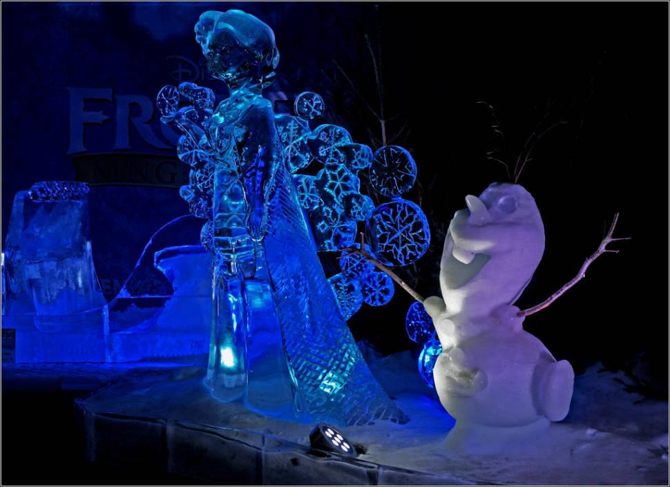 Ice Sculptures in Zwolle in The Netherlands - Best Season