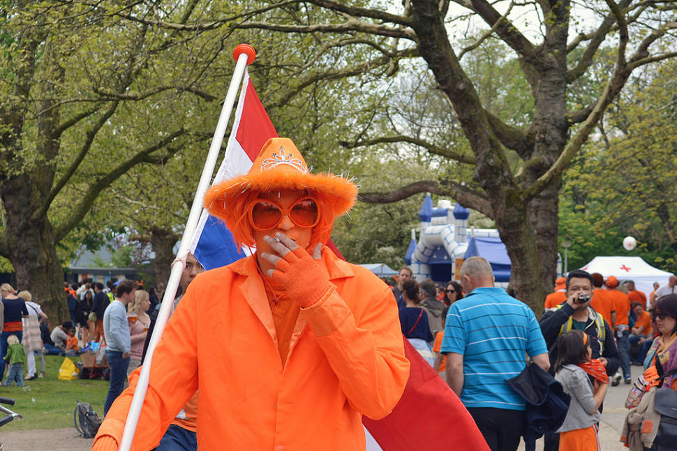 Best time for King's Day in The Netherlands