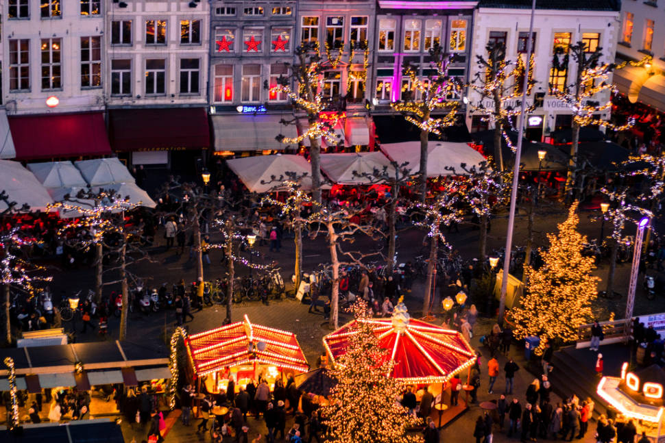Maastricht Christmas Market in The Netherlands - Best Season
