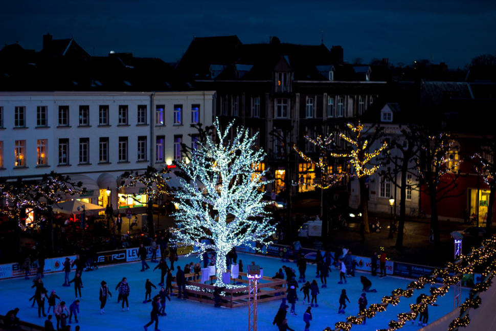 Best time for Maastricht Christmas Market in The Netherlands