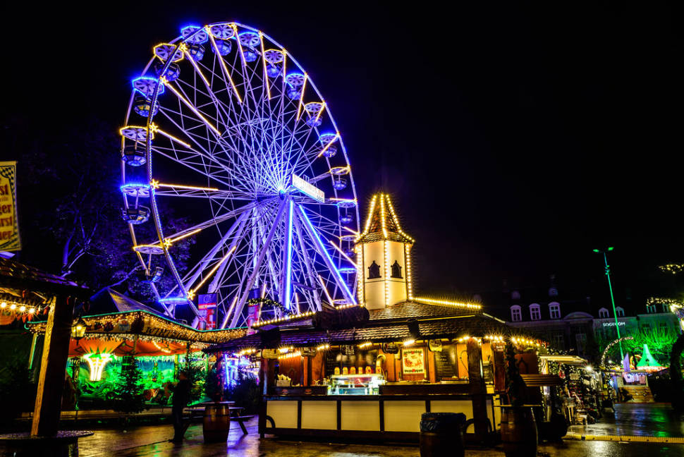 Best time to see Maastricht Christmas Market in The Netherlands