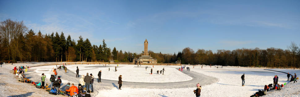 Best time for Winter Fun at Hoge Veluwe in The Netherlands
