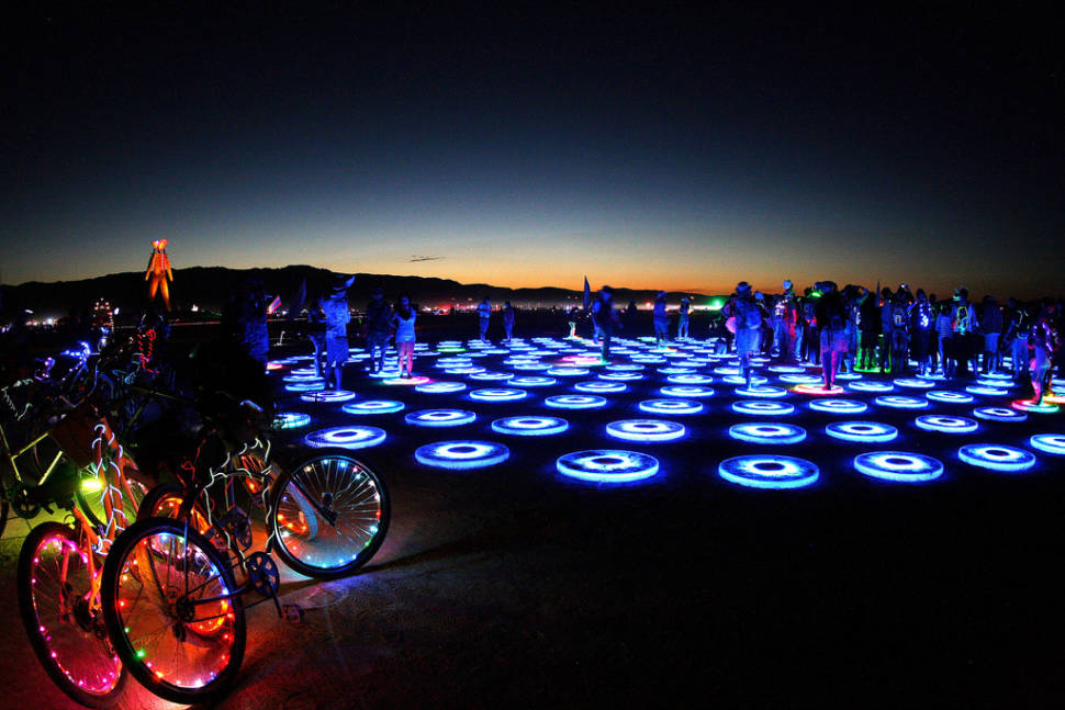 Burning Man in Nevada - Best Season