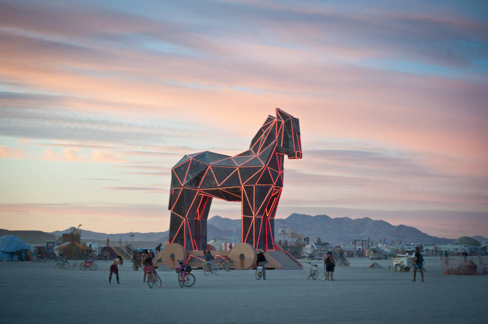 Best time to see Burning Man in Nevada