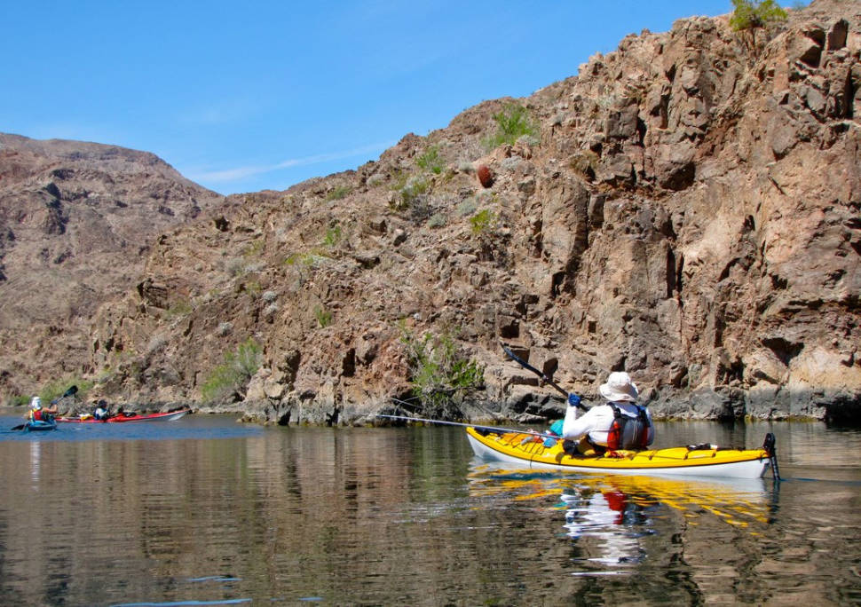 Kayaking in Nevada - Best Time