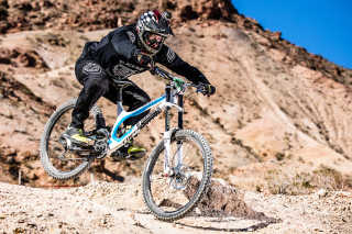 Mountain Biking around Lake Mead