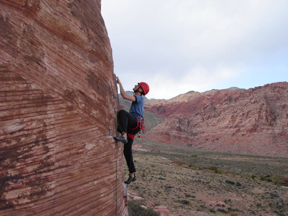 Best time for Red Rocks Climbing