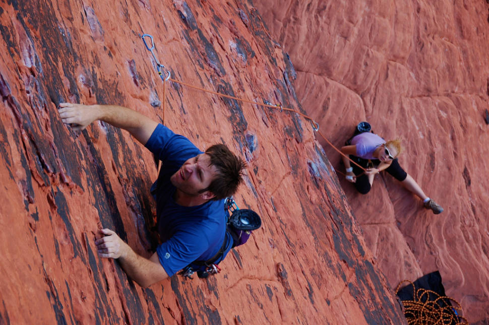 Best time for Red Rocks Climbing in Nevada