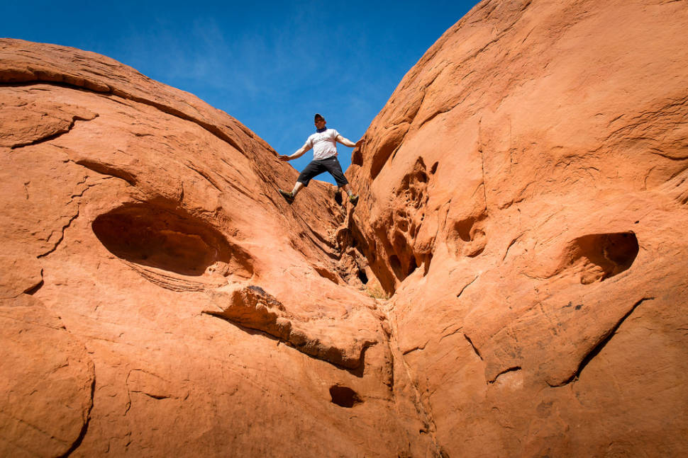 Hiking in the Valley of Fire in Nevada - Best Time