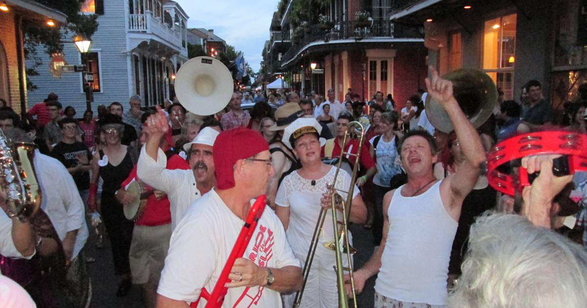 Dirty Linen Night in New Orleans - Best Time