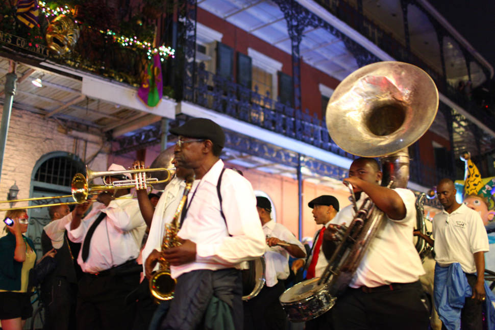 Best time for Mardi Gras in New Orleans