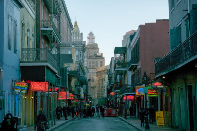 Winter in New Orleans - Best Time