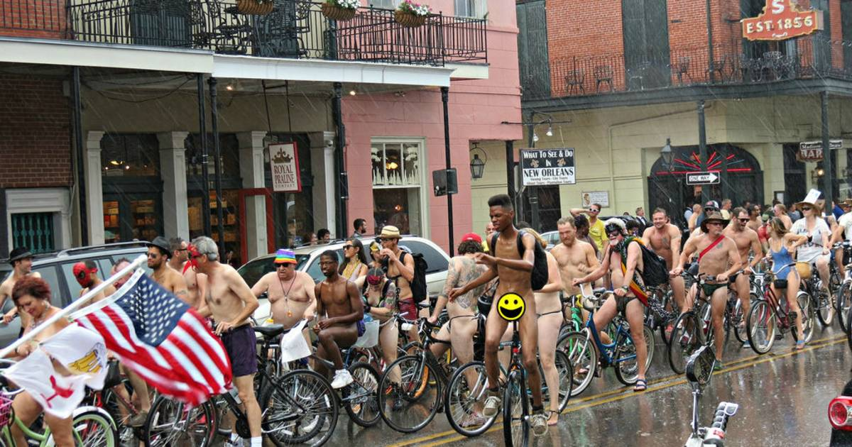 World Naked Bike Ride 2019 in New Orleans - Dates & Map