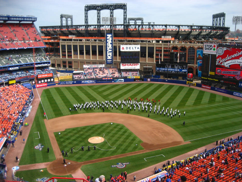 Opening Day at the Shea Stadium