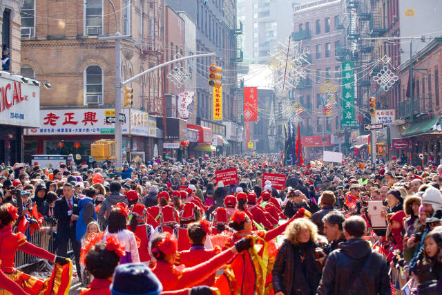 Best time for Chinese New Year in New York
