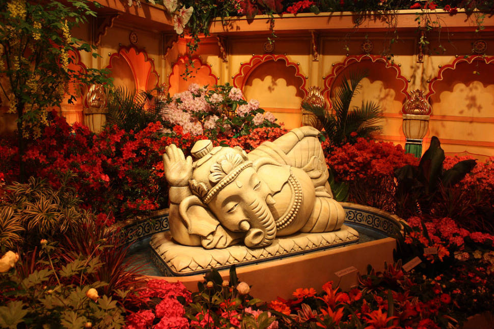 Best time for Macy's Flower Show in New York