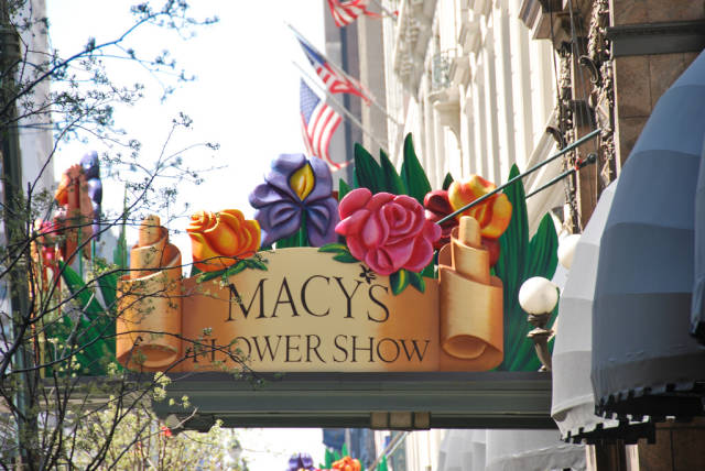 Macy's Flower Show in New York - Best Time