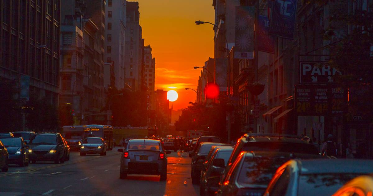 Manhattanhenge in New York - Best Time