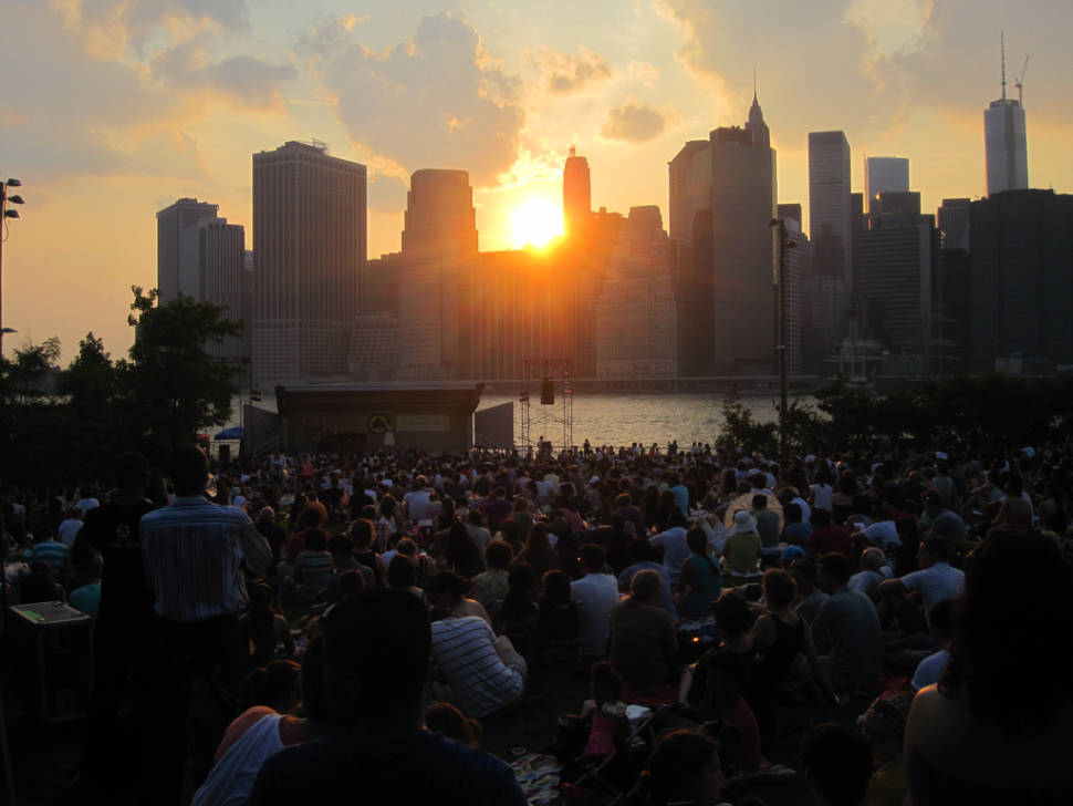 Best time to see Metropolitan Opera in the Parks in New York
