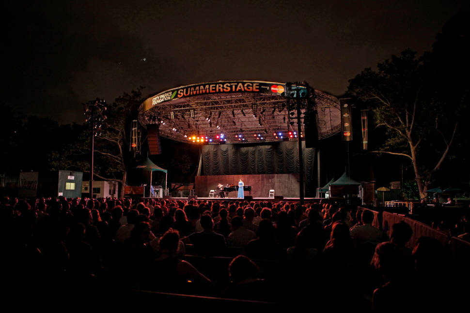 Best time for Metropolitan Opera in the Parks in New York