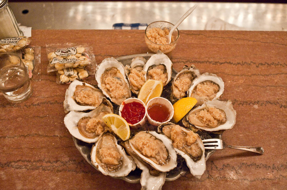 The Oyster Bar, Grand Central Terminal, New York, NY. The oldest operating restaurant in Grand Central.