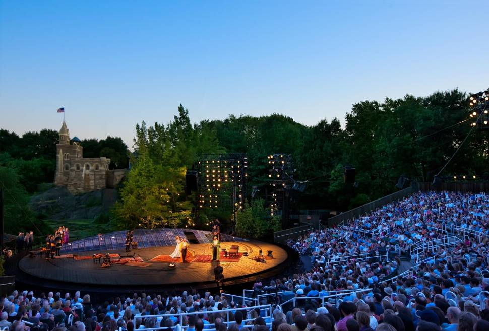 The Public Theater's Free Shakespeare in the Park