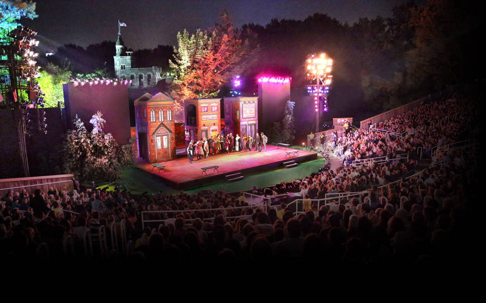 Shakespeare in the Park in New York - Best Time