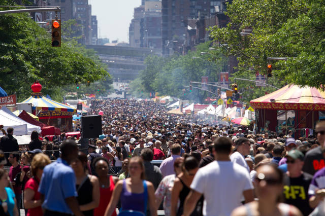 The 9th Avenue International Food Festival in New York - Best Season