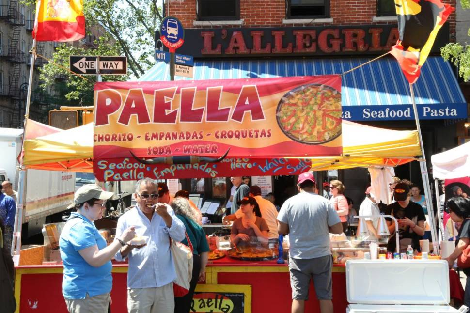 Best time for The 9th Avenue International Food Festival in New York