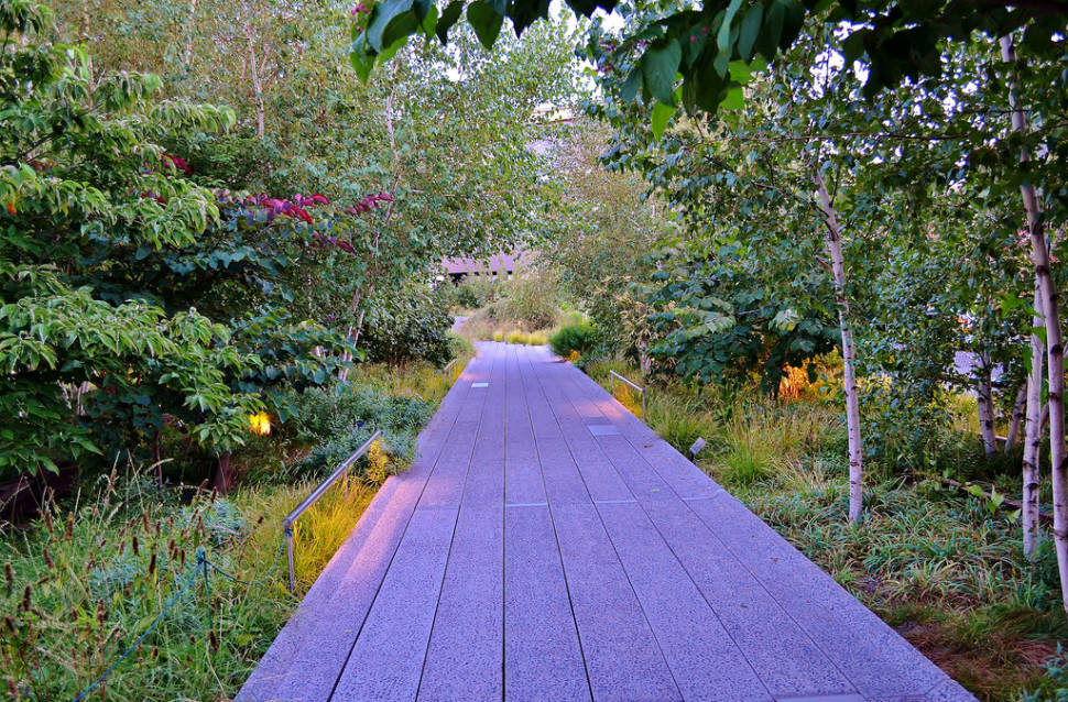 Best time for The High Line Sightseeing in New York