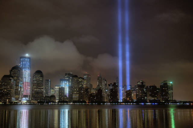 Tribute in Light in New York - Best Time
