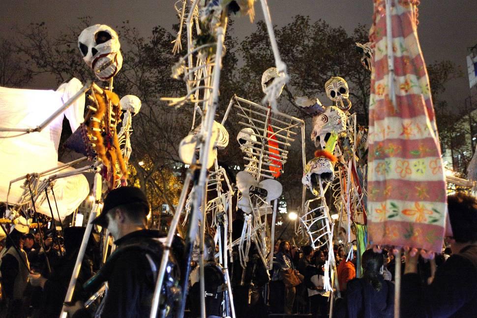 Village Halloween Parade in New York - Best Time