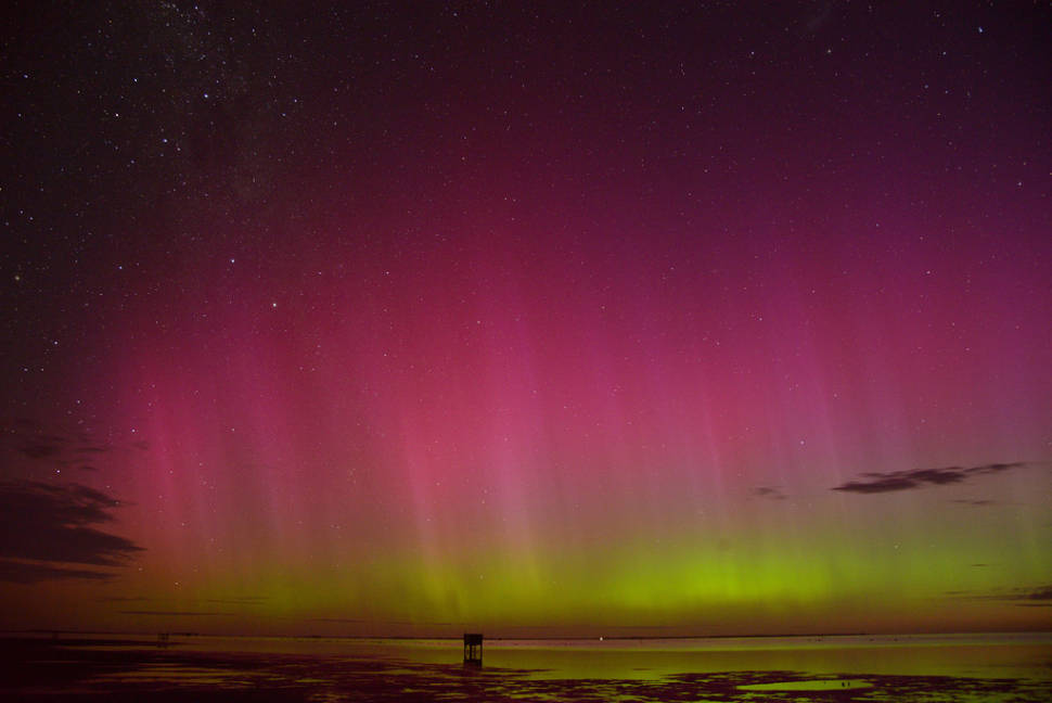 Aurora Australis in New Zealand - Best Time