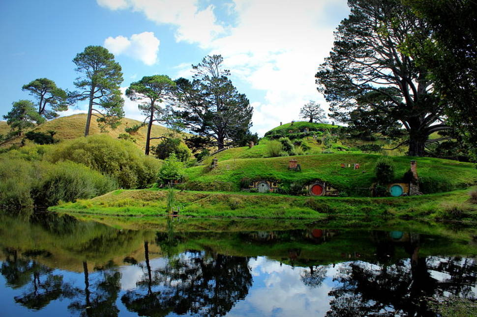 Best time for Hobbiton in New Zealand