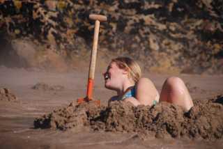 Hot Water Beach at Coromandel Peninsula