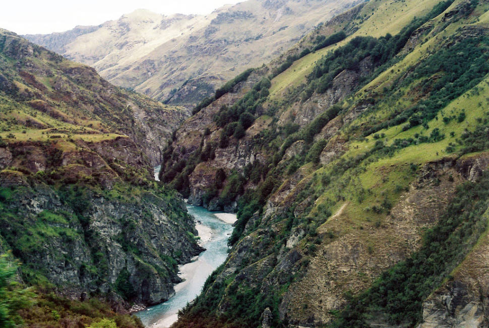 Shotover Canyon in New Zealand - Best Season